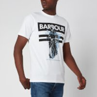 Barbour International Men's Heritage T-Shirt - White - XL