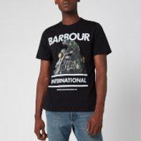 Barbour International Men's Heritage T-Shirt - Black - L