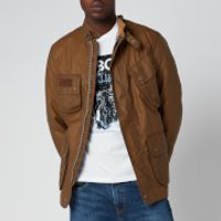 Barbour International Mens Slim International Wax Jacket - Sand - S