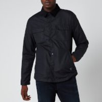 Barbour Beacon Mens Akenside Wax Jacket - Navy - L