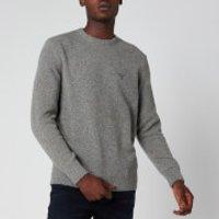 Barbour Beacon Men's Roan Knit Jumper - Mid Grey - XXL