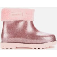 Mini Melissa Toddlers' Winter Boot - Pink Glitter - UK 5 Toddler