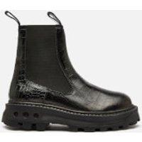 Simon Miller Women's Scrambler Chelsea Boots - Black Croc - UK 5