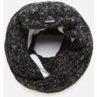 Superdry Womens Gracie Cable Snood - Black Tweed