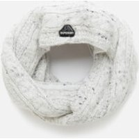 Superdry Womens Gracie Cable Snood - Winter White Tweed