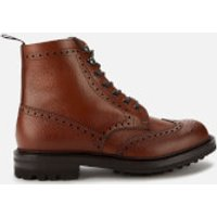 Churchs-Mens-Mac-Farlane-LW-Grained-Leather-Lace-Up-Boots-Walnut-UK-8