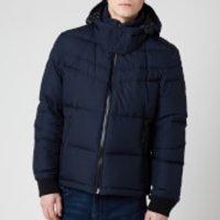 BOSS Mens Olooh2 Padded Bomber Jacket - Dark Blue - EU 56/XXXL