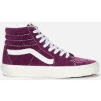 Vans Womens Suede Sk8-Hi Trainers - Grape Juice/Snow White - UK 4