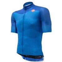 Castelli Foresta Squadra Jersey - XXL - Blue