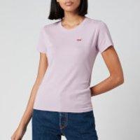 Levi's Women's Short Sleeve Rib Baby T-Shirt - Lavender Frost - L