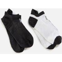 adidas by Stella McCartney Women's Hidden Socks - White/Black - S