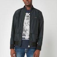 Barbour International Men's Broad Jacket - Black - XL