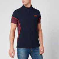Barbour International Men's Block Polo Shirt - Navy - L