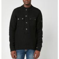 Barbour International Men's Calibrate Half Zip Sweatshirt - Black - L