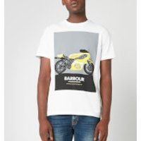 Barbour International Men's Posterise T-Shirt - White - M