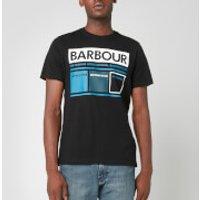 Barbour International Men's Squares T-Shirt - Black - XXXL