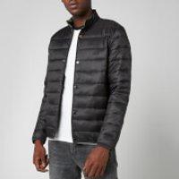 Barbour International Mens Mark Quilt Jacket - Black - S