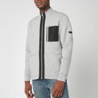 Barbour International Mens Ratio Zip Thru Jacket - Grey Marl - L