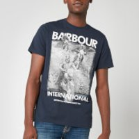 Barbour International Men's Archieve Comp T-Shirt - Navy - S