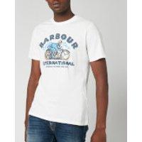 Barbour International Men's Device T-Shirt - Light Grey - S