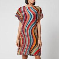 PS Paul Smith Women's Multi Stripe Dress - Multi - IT 42/UK 10