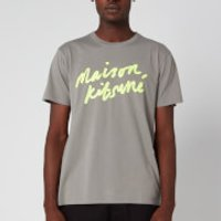 Maison Kitsune Men's Handwriting T-Shirt - Dark Grey - XXL