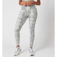 Varley Women's Century Leggings 2.0 - Ivory Cobra - S