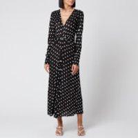 ROTATE Birger Christensen Women's Sierra Dress - Black Comb - DK 34/UK 8