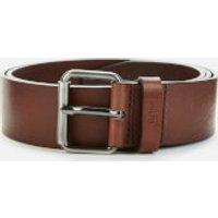 BOSS Men's Serge Leather Belt - Dark Brown - 80cm/W30