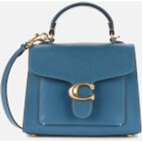 Coach Women's Mixed Leather Tabby Top Handle 20 Bag - Lake