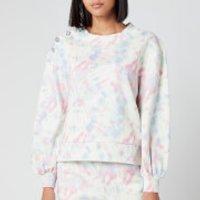Olivia Rubin Women's Nettie Jersey Sweatshirt - Pastel Tie Dye - L