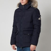 Pyrenex Mens Authentic Mat Fur Collar Jacket - Amiral - S