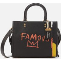 Coach 1941 Women's Coach X Basquiat Famous Crown Rogue Bag 25 - Black