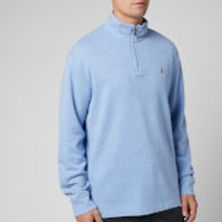Polo Ralph Lauren Men's Estate Rib Half Zip Pullover - Jamaica Heather - S