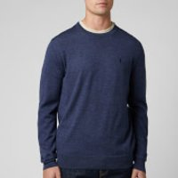 Polo Ralph Lauren Men's Merino Wool Sweatshirt - Fresco Blue Heather - L