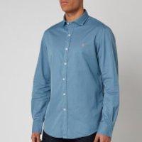 Polo Ralph Lauren Men's Long Sleeve Sport Shirt - Camp Blue - XL