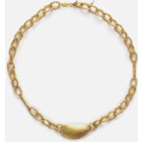 Anni Lu Women's Grand Moules Necklace - Gold