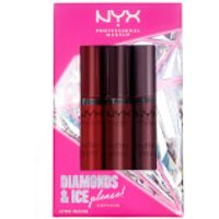 NYX Professional Makeup Diamonds and Ice Please Butter Gloss Lip Gloss Trio 03