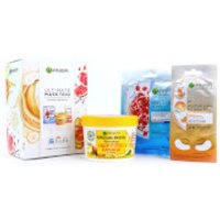 Garnier Ultimate Mask Trio for Face, Hair and Eyes (Worth PS15.00)