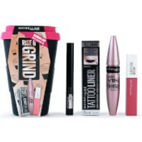 Maybelline Makeup for Her Rise & Grind Christmas Gift Set For Her (Worth PS30.00)