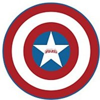 Marvel Captain America Shield Microfiber Beach Towel
