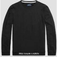 Polo Ralph Lauren Men's Long Sleeve Crewneck Sleep Top - Polo Black - XL
