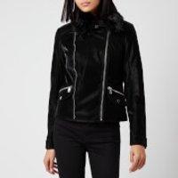 Guess Women's Cantara Biker Jacket - Jet Black - S