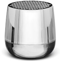 Lexon MINO + Bluetooth Speaker - Chrome