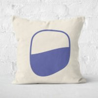 Tranquil Circle Square Cushion - 40x40cm - Soft Touch