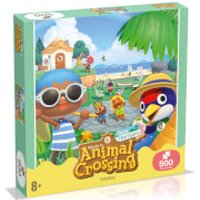 Image of 500 Piece Jigsaw Puzzle - Animal Crossing Edition