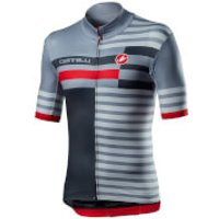Castelli Mid Weight Pro Jersey - S - Vortex Grey
