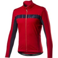 Castelli Mortirolo VI Jacket - XXL - Red