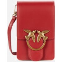 shop for Pinko Women's Love Baby Soft Simply Bag - Ruby Red at Shopo