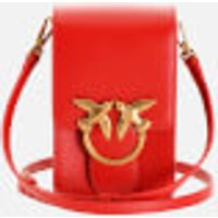 shop for Pinko Women's Love Smart Simply Bag - Ruby Red at Shopo